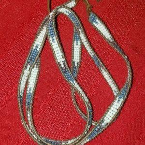 lulu dharma Jewelry - Lulu Dharma Flat Seed Bead Rope Bracelet